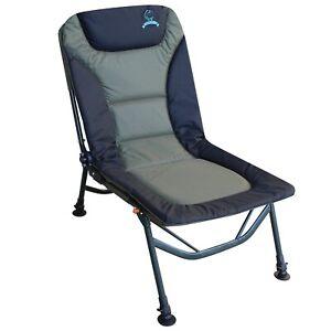 Carpzilla Portable Folding Fishing Chair - XL Camping Chair 4 Adjustable Legs