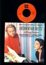 Amedeo Minghi Mietta - Vattene Amore - Vattene Amore - 7 Inch Vinyl - BELGIUM