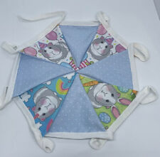 Guinea Pig Bunting For Decoration 8 Flags