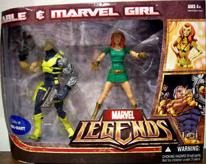 "MARVEL LEGENDS_CABLE and MARVEL GIRL 6"" figures_Exclusive Limited Edition 2-Pack"