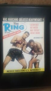 Vintage Ring Boxing Magazine. Dec. 1969. Rocky Marciano.
