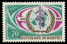 DAHOMEY 251 (Mi343) - World Health Organization 20th Anniversary (pa41843)