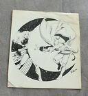 Doctor Strange 1980 Decapitated Signed Nick Burns Marvel ORIGINAL ART FA/G
