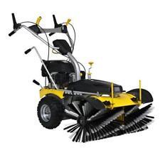 Benzin Motor Kehrmaschine Smart Sweep 800 E, Elektrostart,Schneeschieber,fräse