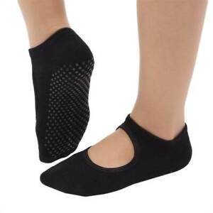 Women Breathable Yoga Socks Anti-slip Ballet Gym Fitness Sports Cotton Socks
