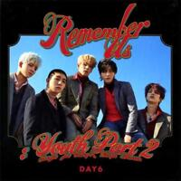 DAY6 REMEMBER US:YOUTH PART 2 4th Mini Album REW CD+POSTER+Pre-Order+etc+GIFT