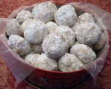 Fresh Baked Homemade Christmas Cookies-Butterballs