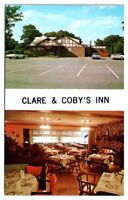 Clare & Coby's Inn Restaurant & Cocktail Lounge, Madison Township, NJ Postcard
