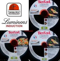 Tefal Luminens Induction Non Stick Frying Pan 24 32 cm Stirfry Wok 28 cms