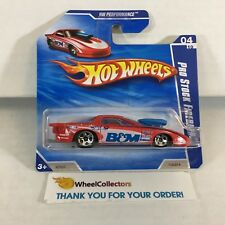 Pro Stock Firebird #110 * RED * 2010 Hot Wheels SHORT CARD * h3