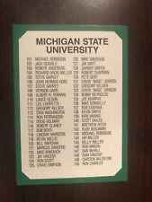 1990 Collegiate Collection Michigan State Spartans 200 #200 - Checklist