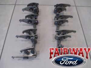 08 thru 10 Super Duty OEM Ford 6.4 Powerstroke Diesel Rocker Arm & Pedestal PAIR