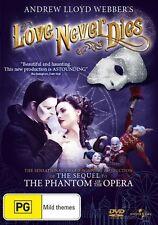 Love Never Dies (DVD, 2012)