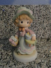 Precious Moments Figurine Sure Could Use Less Hustle And Bustle-Mint