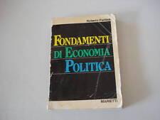 - FONDAMENTI DI ECONOMIA POLITICA - 1980 - ED. MARIETTI