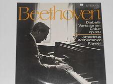 BEETHOVEN -Diabelli-Variationen C-dur op. 20- (Amadeus Webersinke) LP