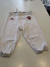 Game Worn Used Indiana Hoosiers White Football Pants .Made By Adidas. Size XL