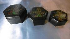 boites octogonales emboitables plastique