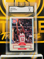 1990 Fleer Isiah Thomas #61 - 9 MINT GMA Graded NBA