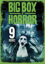 Big Box Horror Ii 9 Cult Movies Films Lot Zombies Night of the Living Dead More