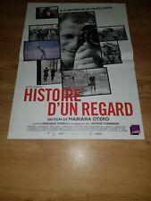 Affiche de cinéma d'époque du film: HISTOIRE D'UN REGARD de 2020 (40x60cm)