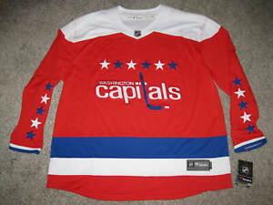 Washington Capitals Red Alternate Mens Fanatics Breakaway Jersey