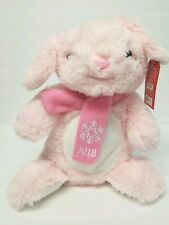 "Petsmart Pink Bunny Squeaky Plush Chew Toy 17"" Gift for Large Dogs & Puppies"