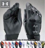 Under Armour UA Clean Up Baseball Softball Batting Gloves Youth Sizes 1299531