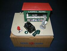 LIONEL POSTWAR 128 ANNIMATED NEWSSTAND C10 NEW IN ORIGINAL BOX