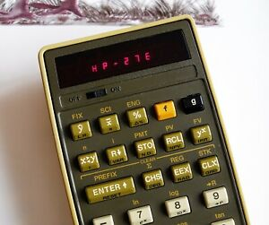 Calculatrice Hewlett Packard HP-27E