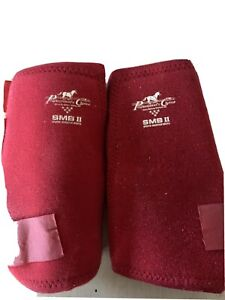 Pair Professionals Choice Equine Competitor Front Leg Splint Boot Universal Size