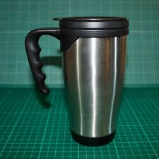 Stainless Steel Insulated Travel Mug 0.4L Tesco - Thermal Cup for Car Tea Coffee