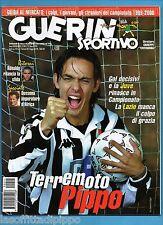 GUERIN SPORTIVO-1999 n.11- INZAGHI-RONALDO-ANELKA -CALCIOMONDO