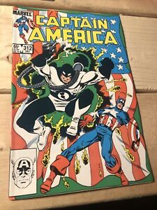Captain America #312 NM 9.4 1st Flag Smasher Falcon & Winter Soldier 1985