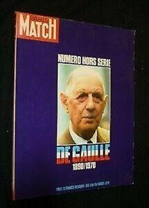 Gaulle 1890-1970 ( Paris Match, Number off/Except Series)