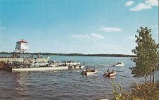 Traversier Lac des Deux- Montagnes Ferry OKA via COMO Quebec Canada Postcard