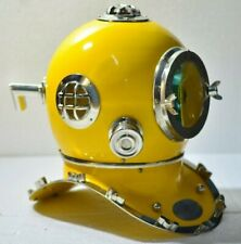 Antique Vintage Scuba Divers Diving Helmet US Navy Mark V Deep Marine Diver Gift