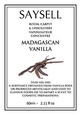 Madagascan Vanilla Room, Upholstery, Car concentrated spray 60ml by SAYSELL