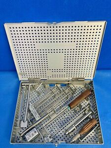 Zimmer 4903-35 Large Fragment Instruments Foot & Ankle Orthopedic Podiatry