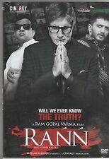 Rann - amitabh bachchan ,  Ritesh Deshmukh  [Dvd]1st Edition Released