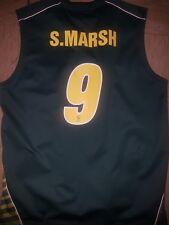 Shaun Marsh match worn player issue australia one day cricket vest jersey