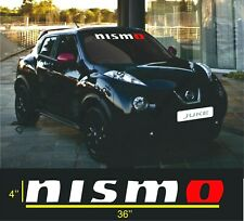 NISMO WINDSHIELD VINYL DECAL STICKER (ALL CARS)