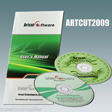 Cutting Plotter Vinyl Cutter ARTCUT2009 Software with Artcut Graphecdisc