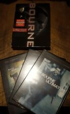 The Bourne Trilogy (DVD, 3-Discs in Set) -  Identity, Supremacy, Ultimatum