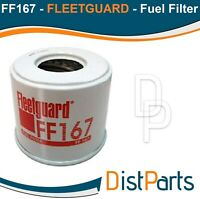 FF167 Fleetguard Fuel Filter (Pack of 2) Replaces Perkins 26561117