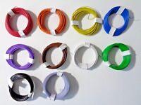(0,22€/m) Decoderlitze / Dekoderlitze, 10m Ring, sehr flexibel, 0,04mm², Auswahl