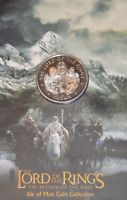 Lord of the Rings Return of King 1 Crown Coin Isle of Man 2004 LOTR VERY RARE