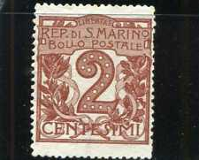 NUMERAL OF VALUE,- SAN MARINO,- SC41   1921   N/G