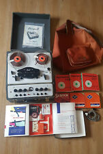 BRENELL MK5 REEL TO REEL TAPE RECORDER MARK 5 with accessories + case + reels