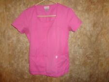 Skechers PINK  SCRUB TOP SIZE S (2 POCKETS) 25702   PNKX